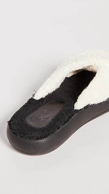 Ancient Greek Sandals Thais 舒适毛圈布凉鞋