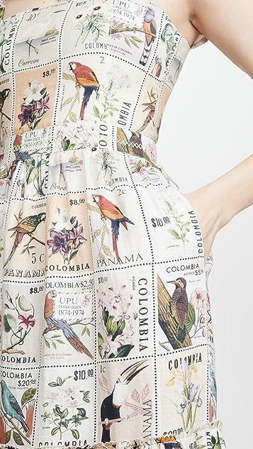 Agua by Agua Bendita Herbarium Dress