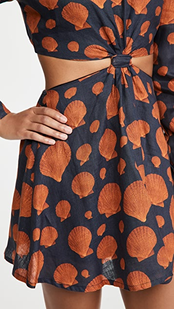 Agua by Agua Bendita Parana Mini Dress