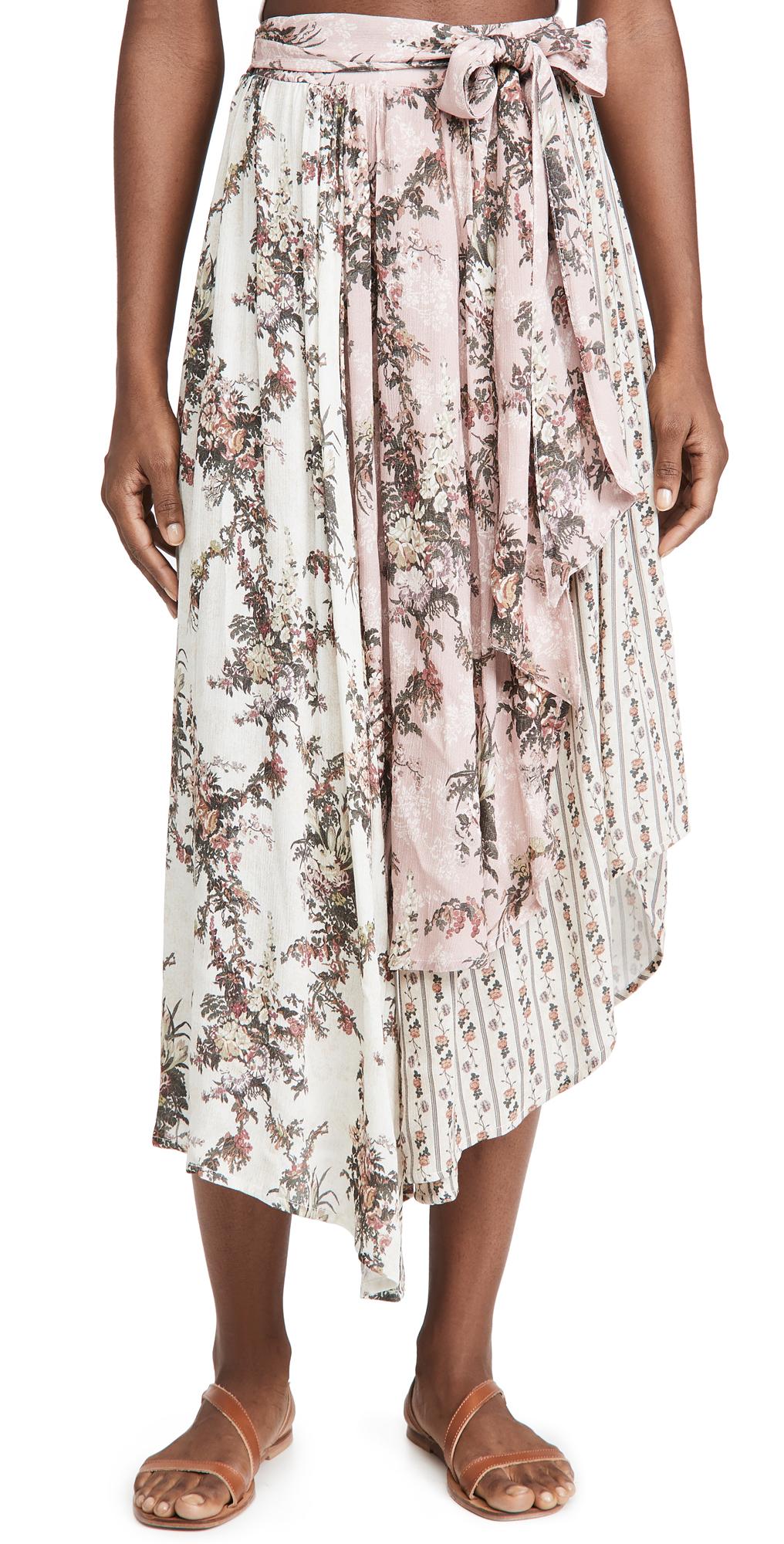Agua Bendita Kaylee Papier Skirt
