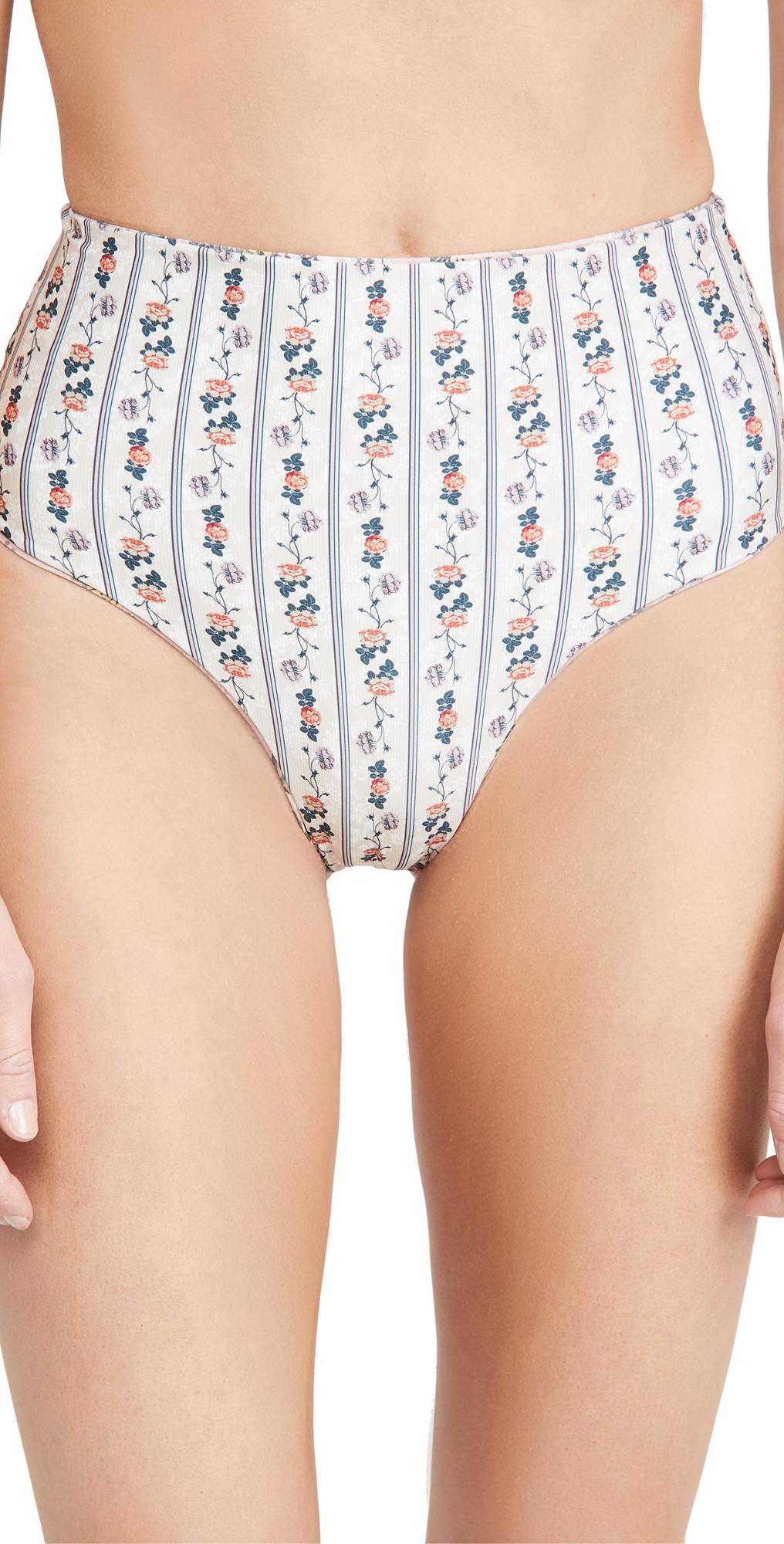 Agua Bendita Alicia Papier Reversible Bikini Bottoms