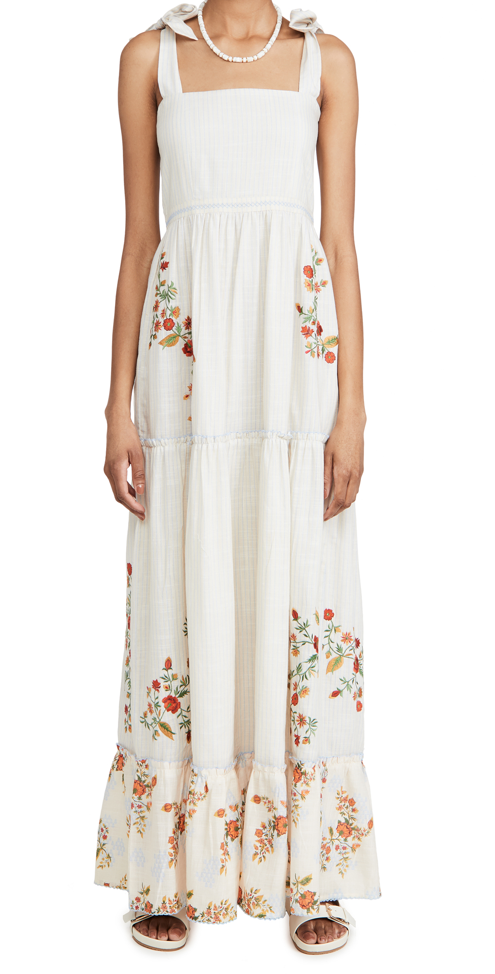 Agua Bendita Helina Sunbaze Maxi Dress