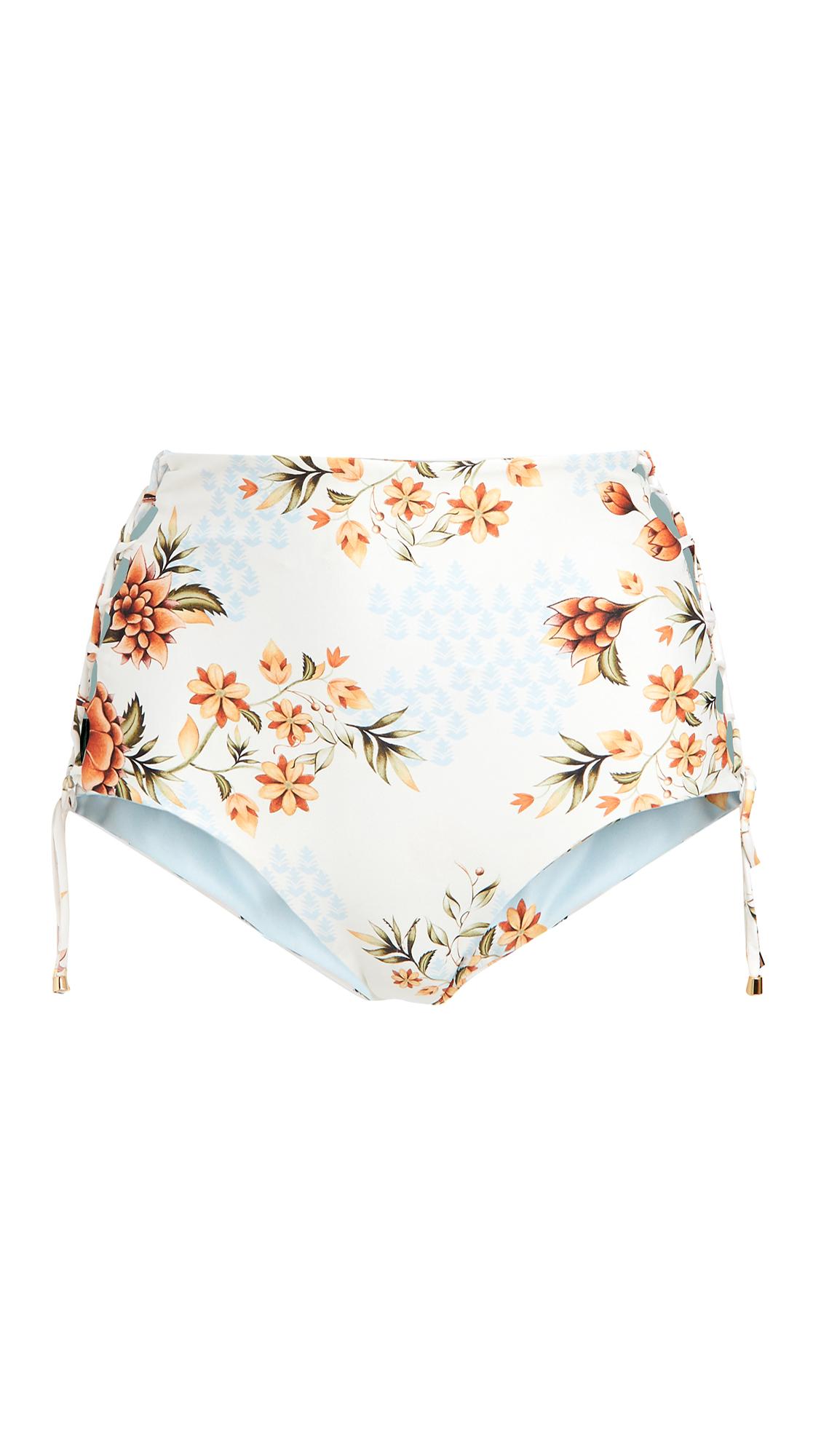 Agua Bendita Reversible Sunbaze Hope Bikini Bottoms