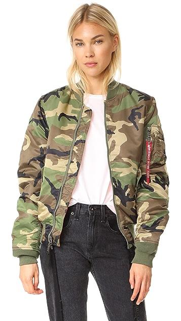 eee29d37d6b Alpha Industries MA-1 Slim Fit Jacket | SHOPBOP