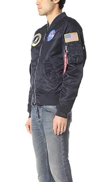 Alpha Industries L2B NASA Bomber Jacket