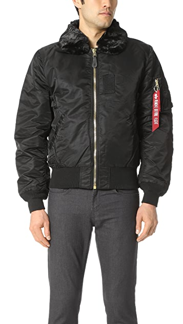 Alpha Industries B-15 Slim Fit Jacket