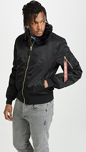 52129f6f3b6 Alpha Industries B-15 Slim Fit Jacket ...