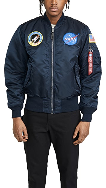 c5d72aaad NASA MA-1 Flight Jacket