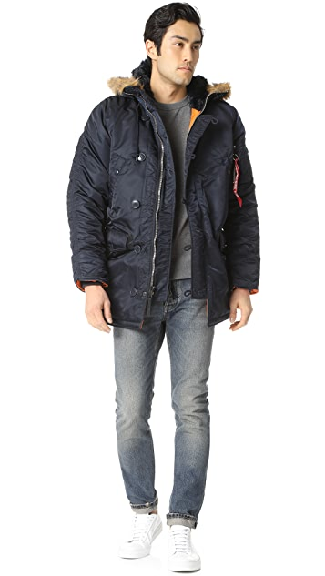 Alpha Industries Slim Fit N3-B Jacket