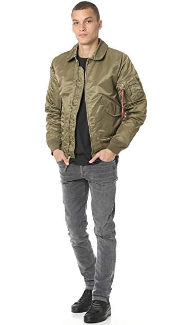 Alpha Industries CWU 45/P Slim Fit Jacket