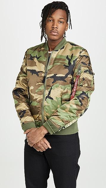 da1aca9448a Alpha Industries MA-1 Slim Fit Jacket | EAST DANE