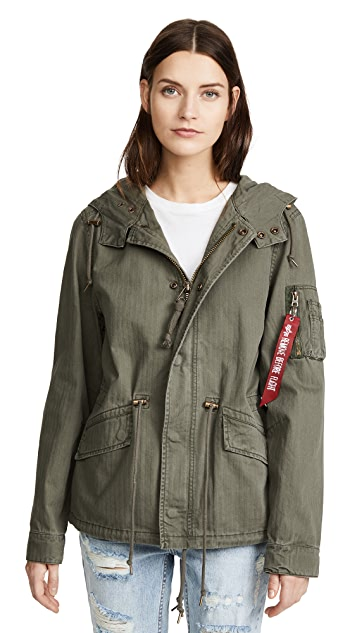 Alpha Industries Swoop Fishtail Parka
