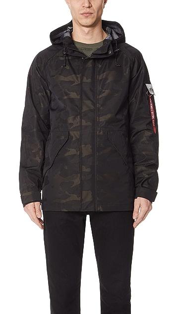 Alpha Industries ECWS Torrent Camo Jacket