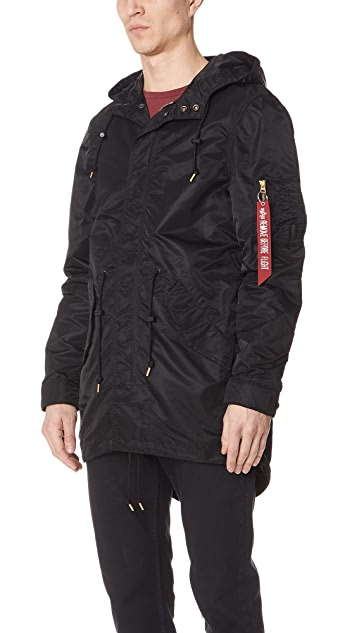 Alpha Industries Nylon Fishtail Mod Parka