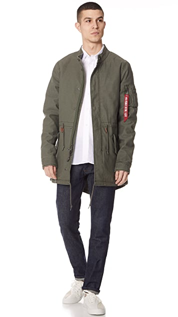 Alpha Industries Recruit Fishtail Parka