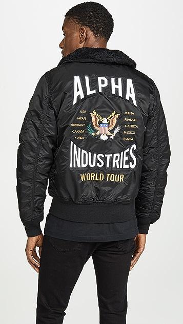 Alpha Industries B-15 Coalition Forces Flight Jacket