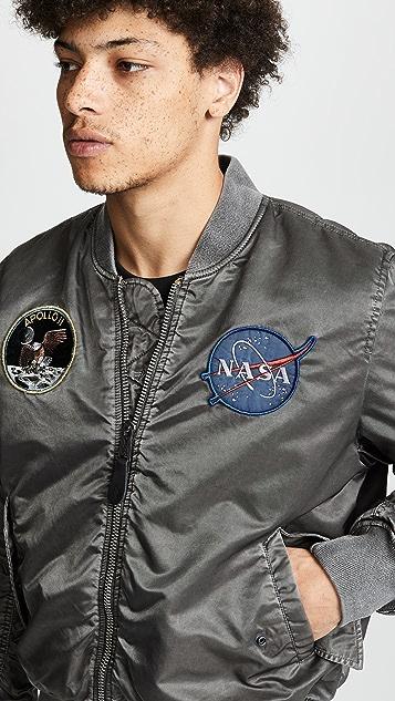 Alpha Industries MA-1 Apollo Battleworn Flight Jacket