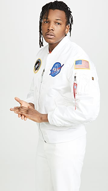 Alpha Industries MA-1 NASA Flight Jacket
