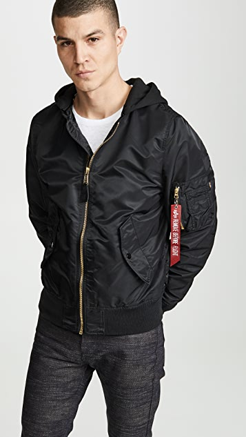 Alpha Industries L2B Natus Hooded Jacket