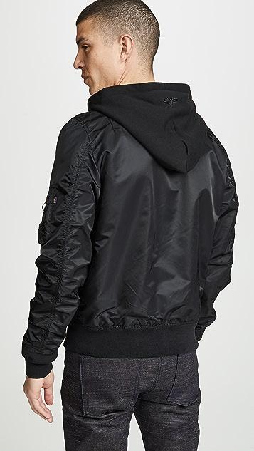 Alpha Industries L2B Natus Hooded Jacket
