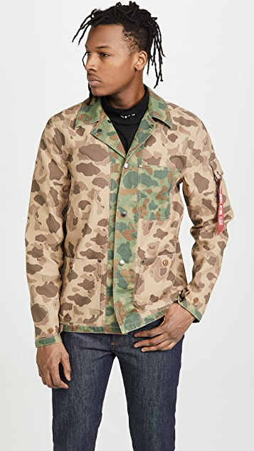 Alpha Industries P42 Mod Camo Jacket