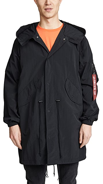 Alpha Industries Shell Fishtail Parka