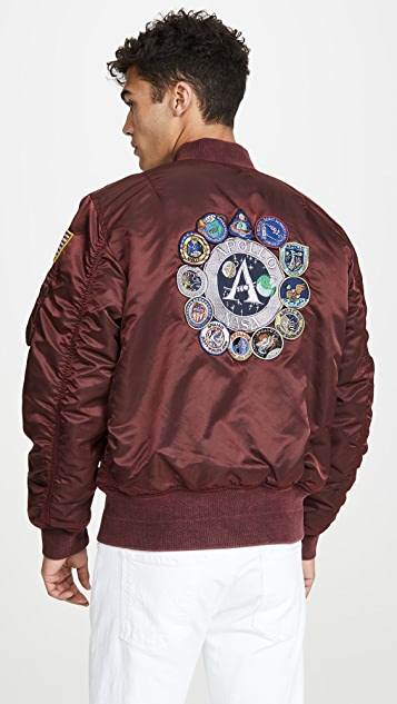 Alpha Industries MA-1 Apollo Battlewash Flight Jacket
