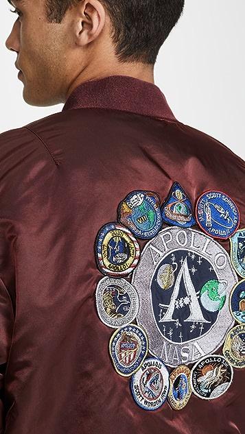 Alpha Industries MA-1 Apollo Battlewash Flight Jacket