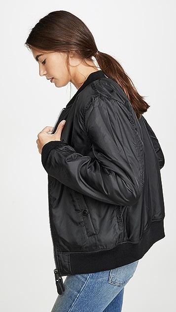 Alpha Industries Летная куртка из искусственного меха
