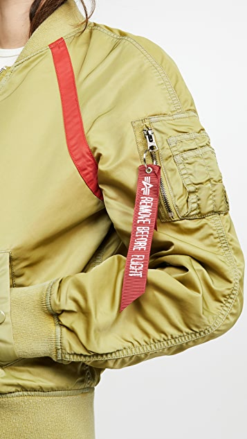 Alpha Industries Летная куртка L-2B Battlewash с рукавами реглан