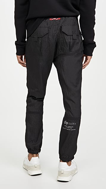Alpha Industries Parachute Drawstring Jogger Pants