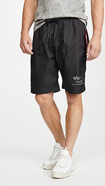 Alpha Industries Parachute Drawstring Shorts
