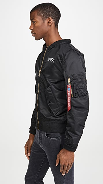Alpha Industries L2B Hooded Nasa II Jacket