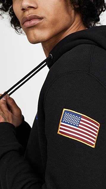 Alpha Industries Space Shuttle NASA Pullover Hoodie