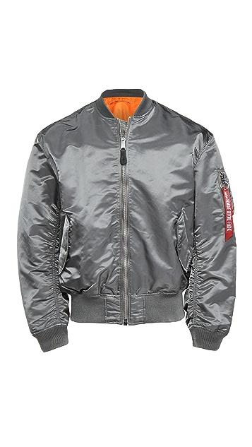 Alpha Industries L2B Loose Fit Flight Jacket - Reversible