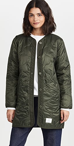 Alpha Industries - Long Quilted Liner Jacket