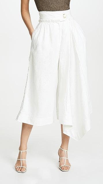Aje Плиссированная юбка-брюки Mimosa