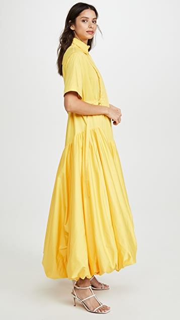 Aje Mimosa Quilted Bubble Gown
