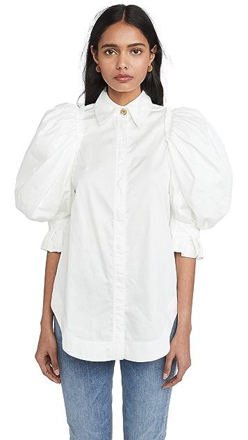 Aje Eucalypt 泡泡袖衬衣