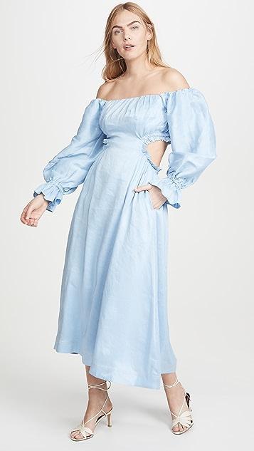 Aje Overture Blouson Dress
