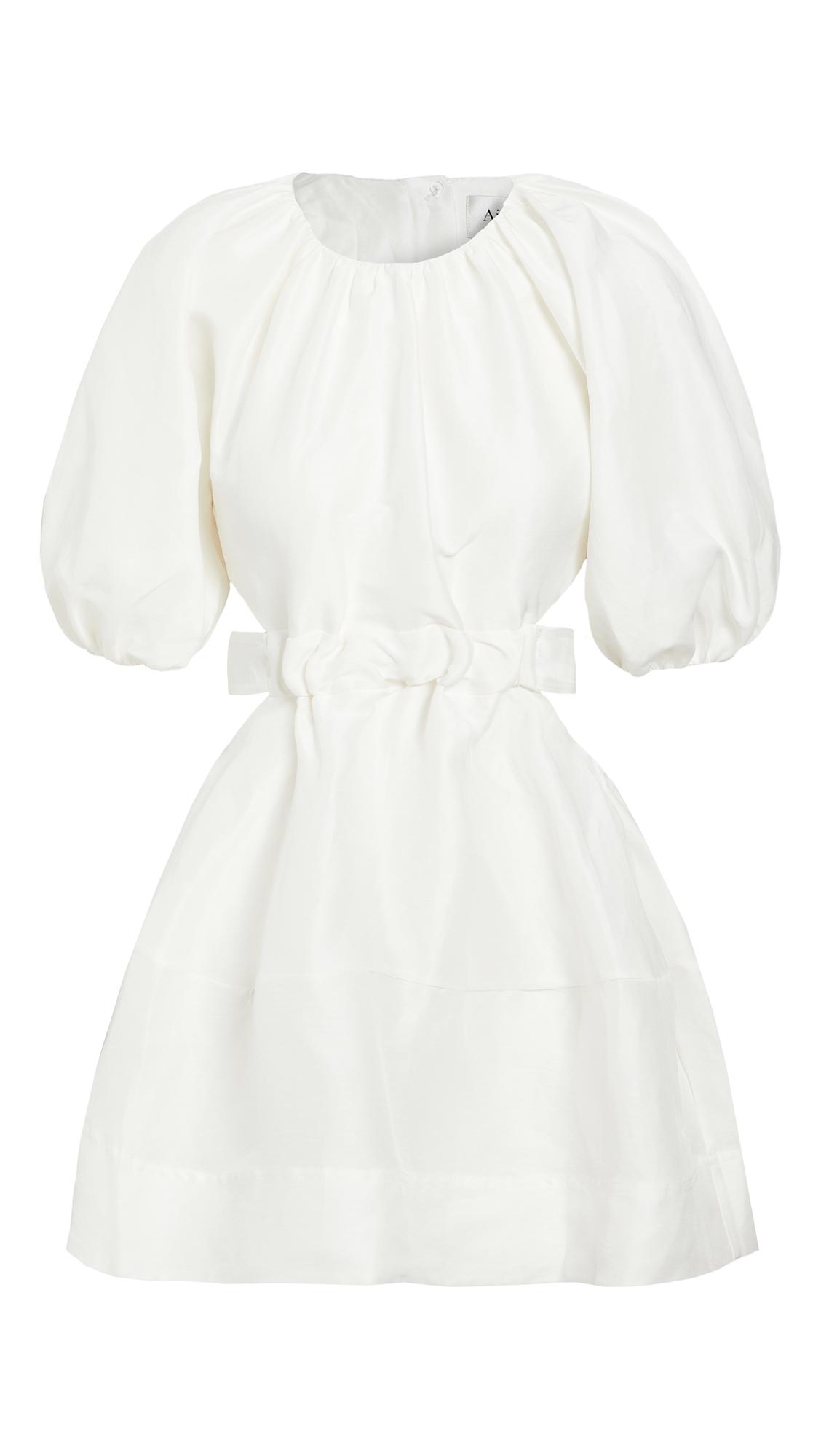 Aje Psychedelia Cut Out Mini Dress