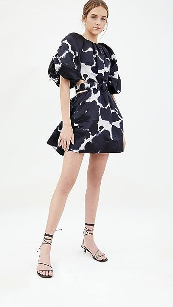 Aje Oxidised Mini Dress