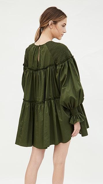 Aje Tranquility Smock Dress