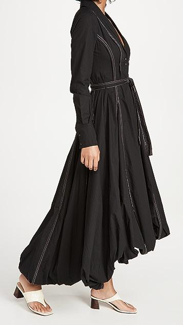 Aje Quietude Bubble Dress