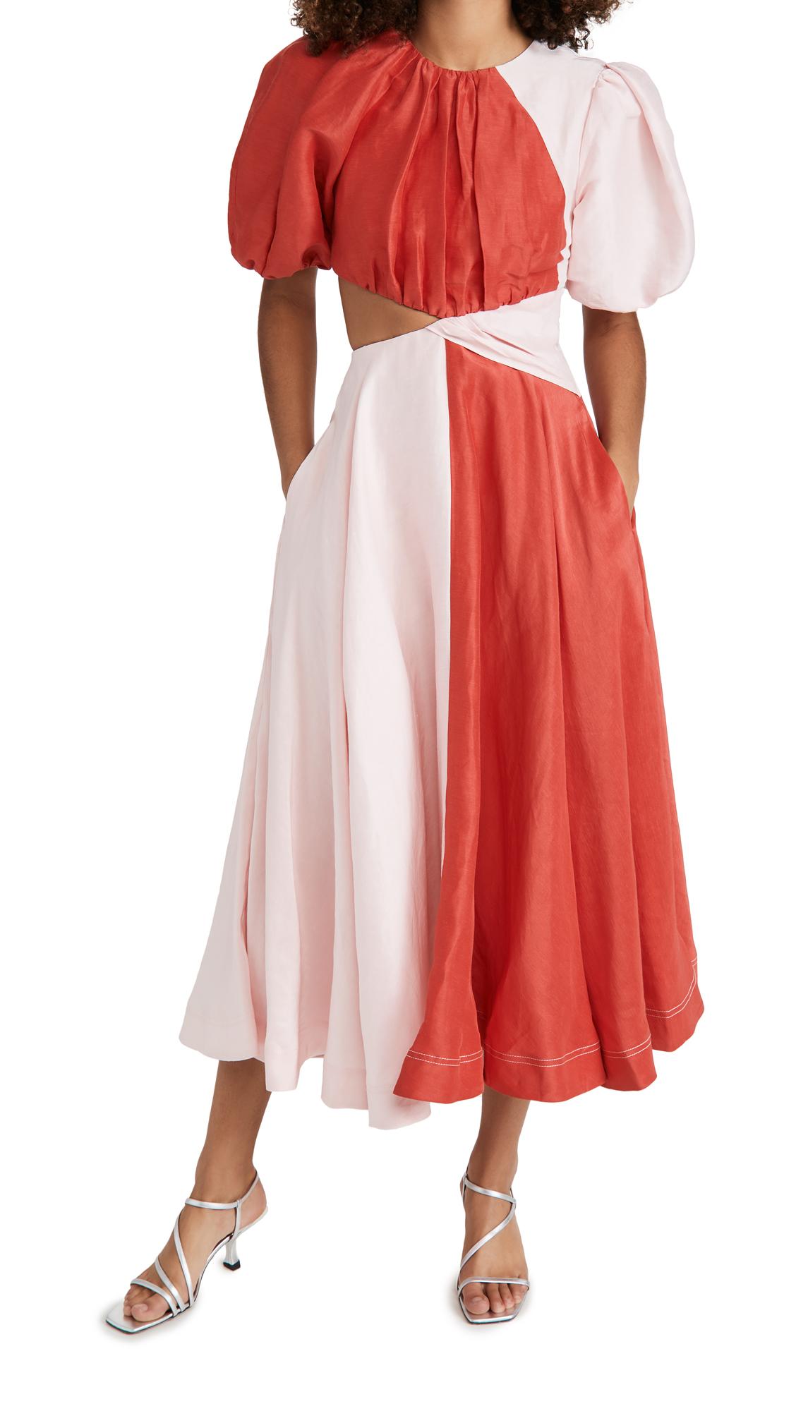Aje Entwined Dress