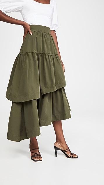 Aje Interlace 中长半身裙