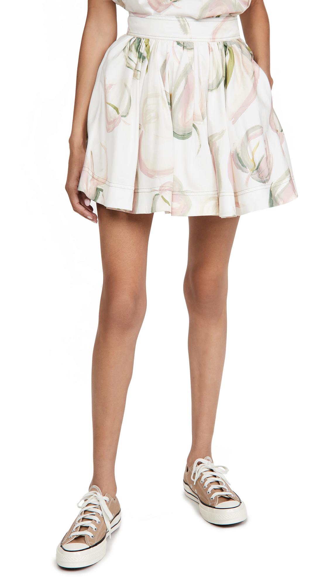 Aje Imprint Mini Skirt