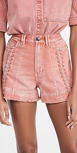 Aje - Framework 牛仔布短裤