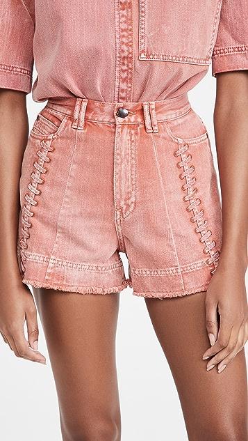 Aje Framework 牛仔布短裤