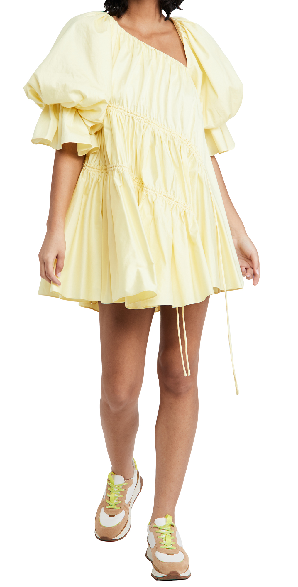 Aje Hushed Asymmetric Dress